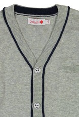 Boboli Boboli Knitwear jacket for boy pearl