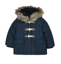 Boboli Boboli Technical fabric parka for baby boy navy