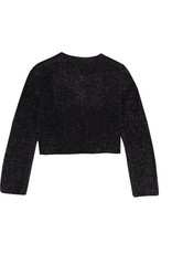 Boboli Boboli Knitwear jacket for girl BLACK