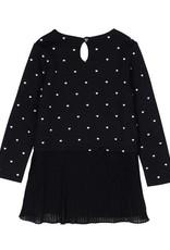 Boboli Boboli Combined dress for girl print
