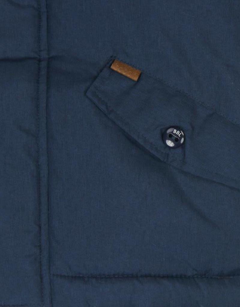 Boboli Boboli Technical fabric parka for boy navy