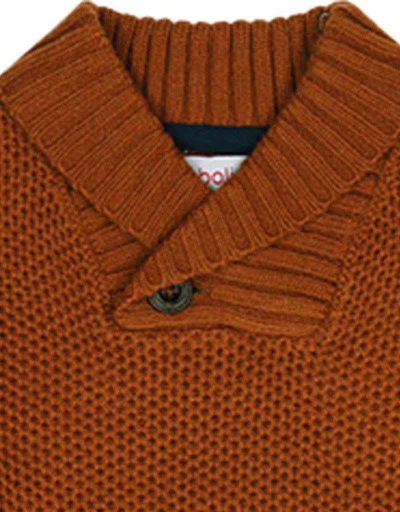 Boboli Boboli Knitwear pullover for boy cinnamon