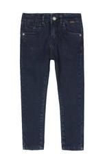 Boboli Boboli Denim stretch trousers for boy BLUE