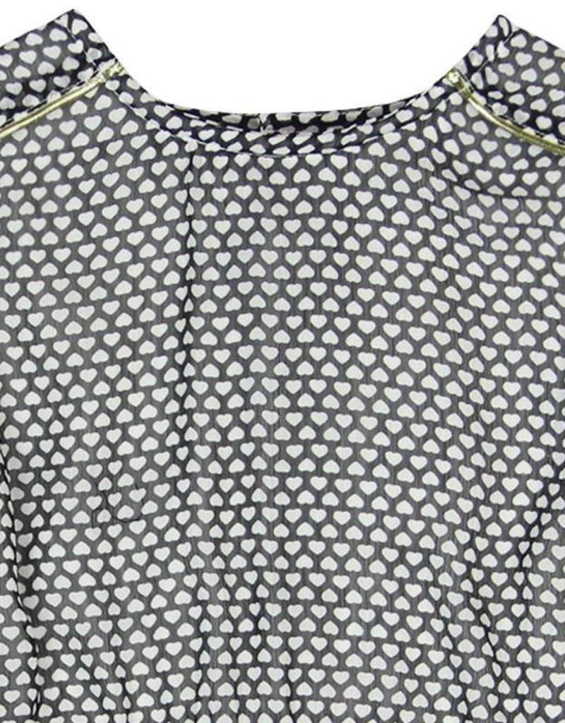 Boboli Boboli Chiffon dress for girl print