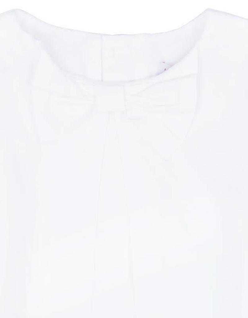 Boboli Boboli Batiste blouse for girl WHITE