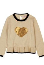 Boboli Boboli Knitwear pullover for girl beige