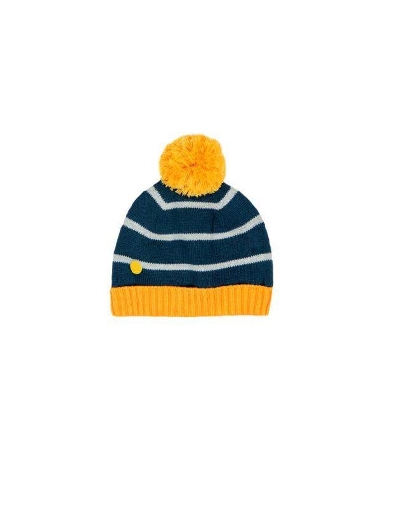 Boboli Boboli Knitwear hat for baby boy mustard