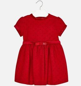 Mayoral Mayoral Dress Red-2
