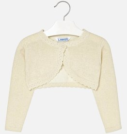 Mayoral Mayoral Basic knitted cardigan Champagne-2