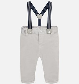 Mayoral Mayoral Long trousers with suspenders Clay
