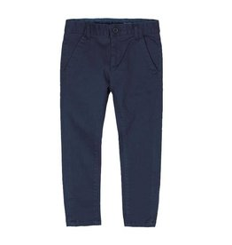 Boboli Boboli Stretch satin trousers for boy navy