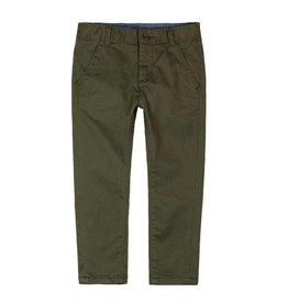Boboli Boboli Stretch satin trousers for boy moss