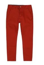 Boboli Boboli Stretch satin trousers for boy bourgogne