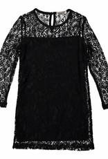 DJ DJ Lace dress Z-SO AWESOME Black