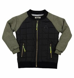 DJ DJ Outdoor cardigan Z-ALL DAY LONG Black + army green
