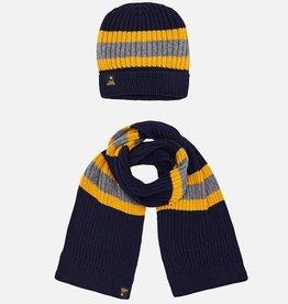 Mayoral Mayoral Hat-scarf set Dark