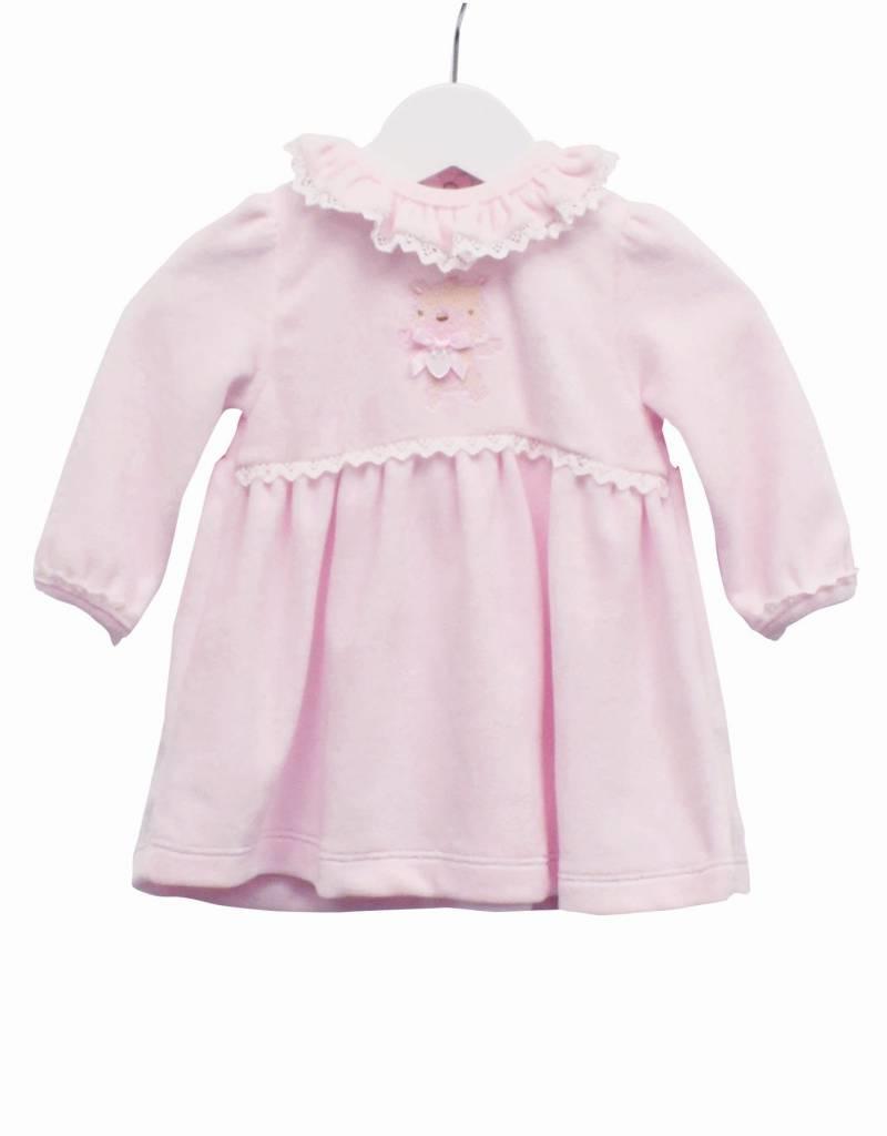 Blues baby Blue Wear jurkje roze velours