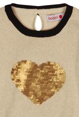 Boboli Boboli Knitwear pullover for girl beige-2