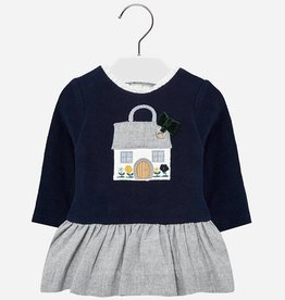 Mayoral Mayoral Combined dress Navy