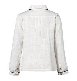 Jottum Jottum blouse off white met strik