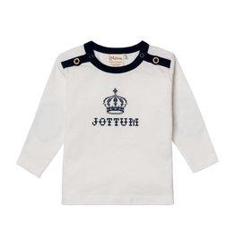Jottum Jottum shirt off white met kroon