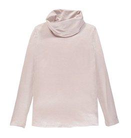 Mek Mek shirt oud roze/zilver met col