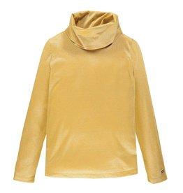 Mek Mek shirt okergeel/glitter met col