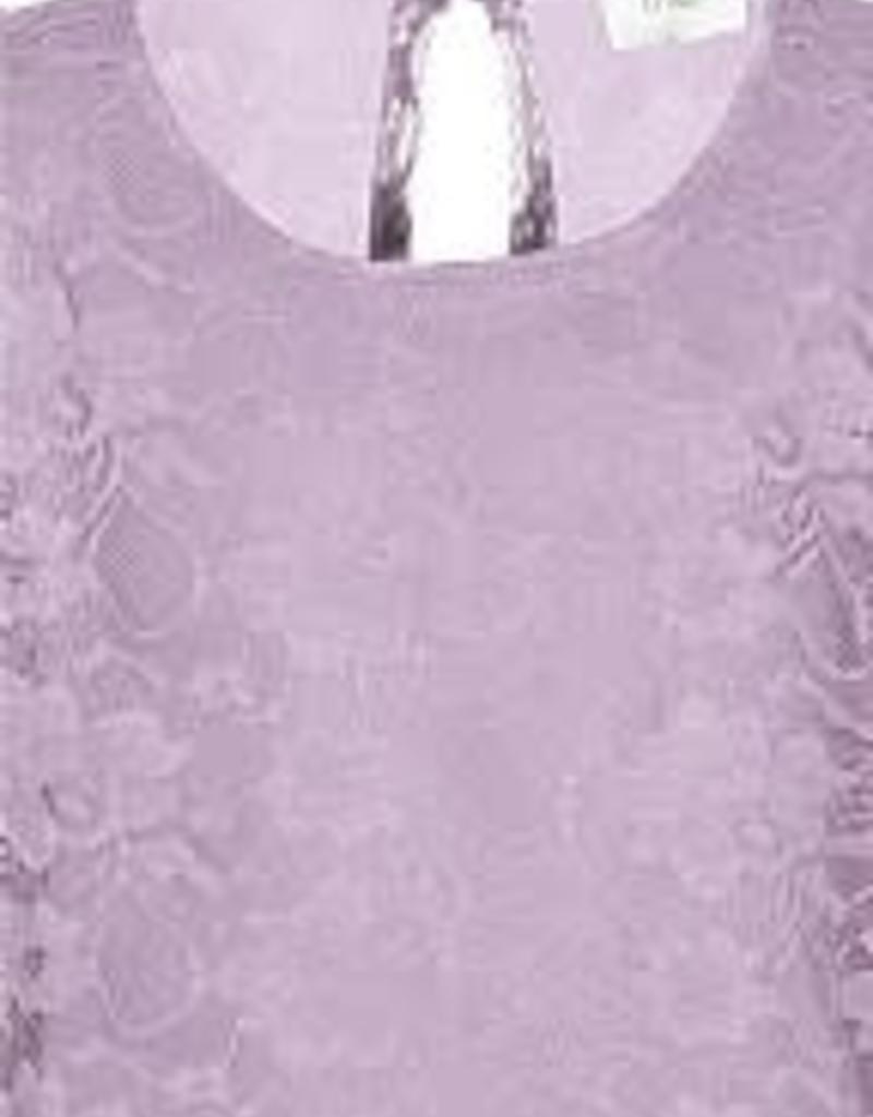 D-Xel Jurk oud roze kant