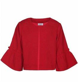 D-Xel D-XEL blazer rood met wijde mouw