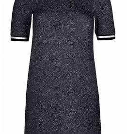 X-DEL D-XEL jurk zwart met glitter