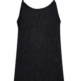 X-DEL D-XEL shirt top zwart glitter