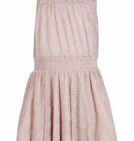 KIDS UP jurk rosé goud mouwloos