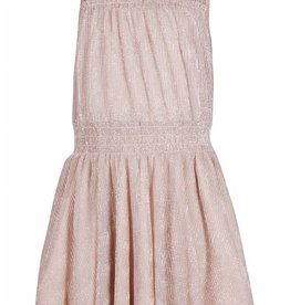 KIDSUP KIDS UP jurk rosé goud mouwloos