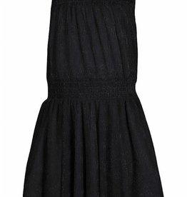 KIDSUP KIDS UP jurk zwart glitter mouwloos