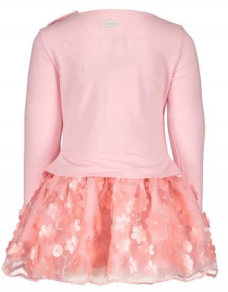 Le Chic Le Chic jurk roze met bloemetjes