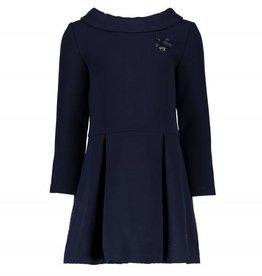 Le Chic Le Chic jurk donkerblauw met plooien