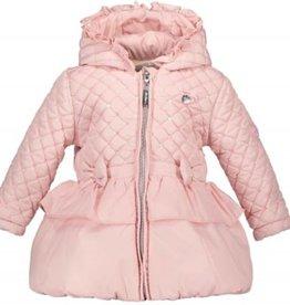 Le Chic Le Chic jas roze met glitters en strikjes