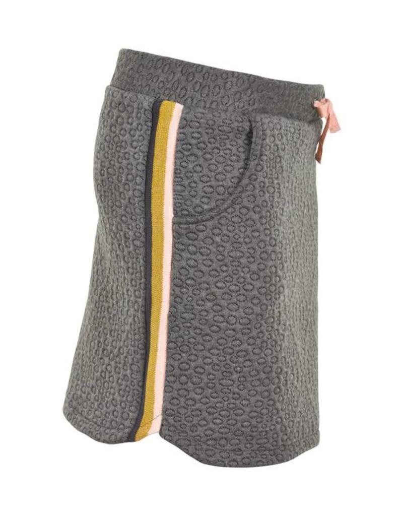 Creamie Creamie rok grijs met goud/roze strepen