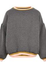 Creamie Creamie  sweatergrijs met goud/roze strepen