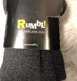 Rumble Rumble Maillot zwart met zilverdraadje