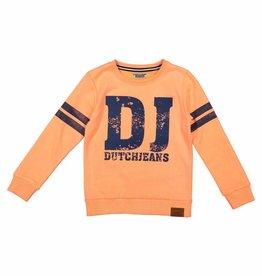 DJ DJ Sweater Z-HAVE THE GUTS Bright orange melange