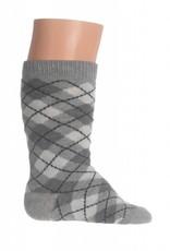 Bonnie Doon Bonnie Doon Sokjes grijs ruit maat 0-4 maand