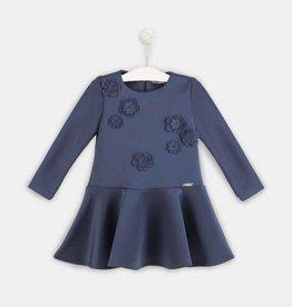 Conguitos Conguit jurk blauw bloemen