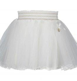 Le Chic Le Chic Rok petticoat off white met goud elastische band en bies