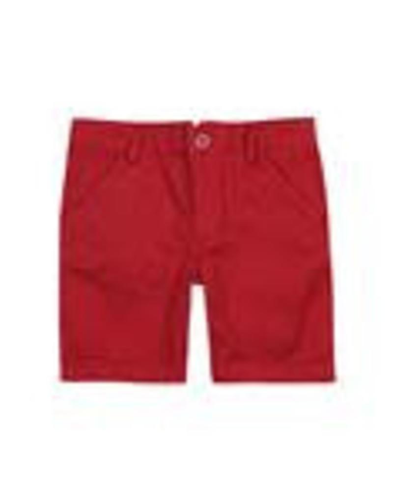 Boboli Boboli Satin bermuda shorts stretch for boy pepper