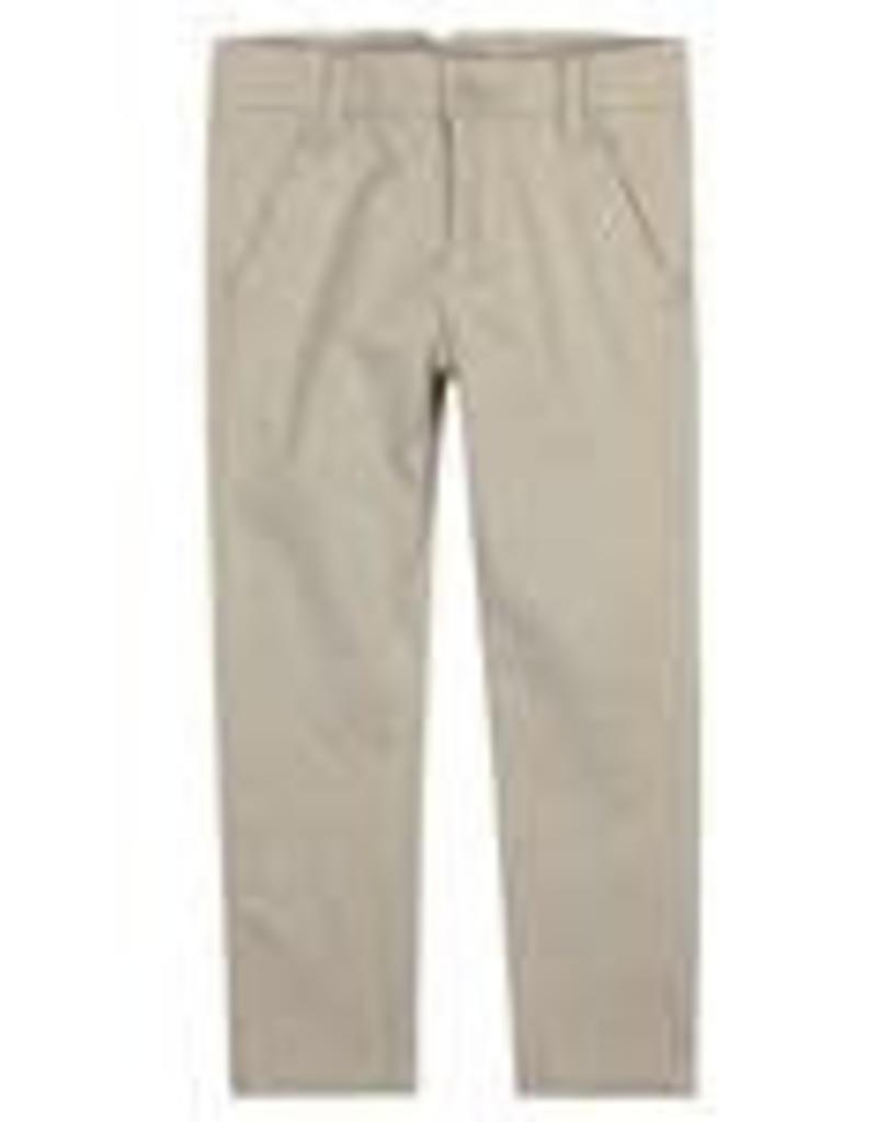 Boboli Boboli Stretch satin trousers for boy stone