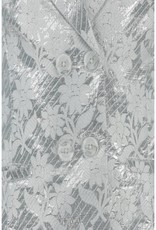 CKS CKS Blazer zilver met bloem print