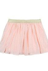 Boboli Boboli Skirt with gauze for girl print