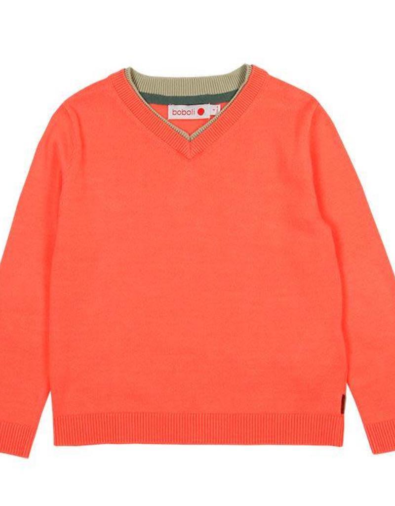Boboli Boboli Knitwear pullover for boy apricot