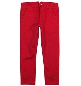 Boboli Boboli Stretch satin trousers for boy pepper